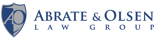 Logo for Abrate & Olsen Law Group of Sacramento, California.